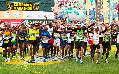 Comrades Marathon Tips for the Novice and Beyond.   The best tips from Comrades coach Lindsey Parry and Comrades King Bruce Fordyce  #run #ultrarunning