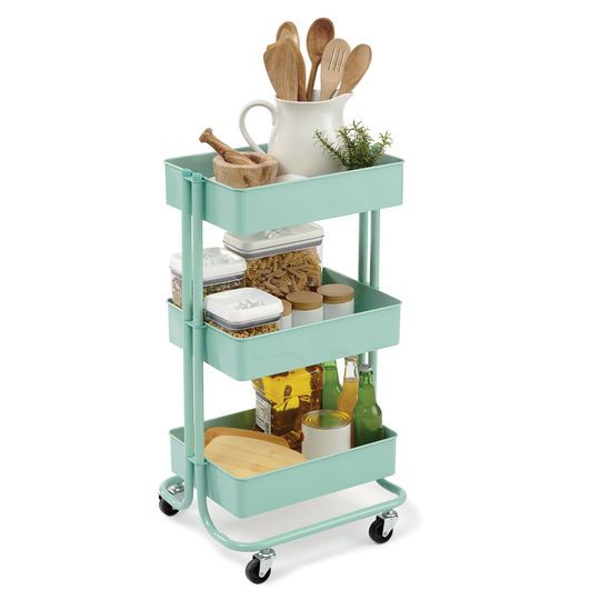 The 25 best ikea 3 tier cart ideas on pinterest ikea for Two tier desk ikea
