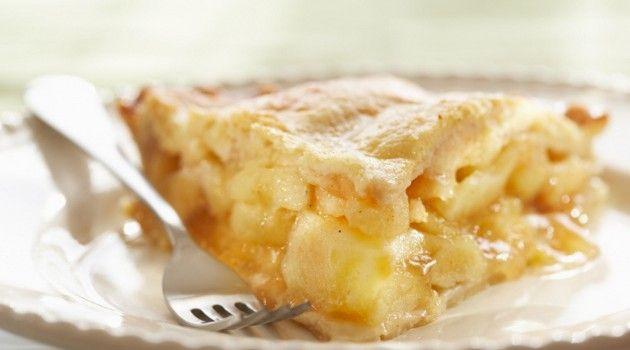 Receita de torta de maçã - Bolsa de Mulher