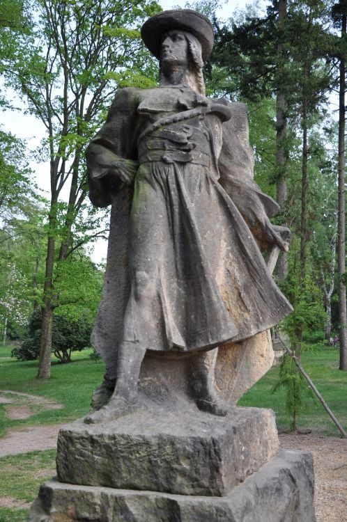 Juraj Jánošík was a famous Slovak highwayman. He is a very popular semi-legendary character and often considered to be the national hero of Slovakia. He was born in year 1688 in village Terchová. When he was fifteen he joined the army of anti-Habsburg rebels, after their defeat he was recruited by the Habsburg army. Two years later, when he worked as prison guard, its believed he secretly helped to escape the highwayman Tomáš Uhorčík. One year later he joined ...