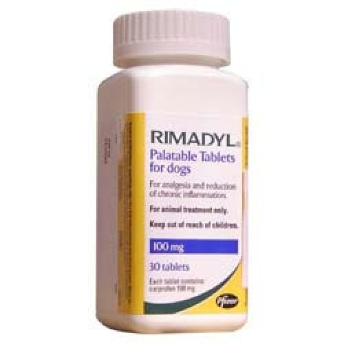 Rimadyl Palatabil 100 mg