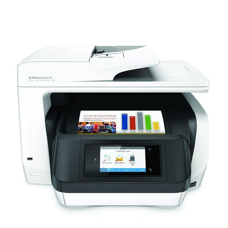 The 8 Best All-In-One Printers: Best Photo Printer: HP OfficeJet Pro 8720 Wireless Printer