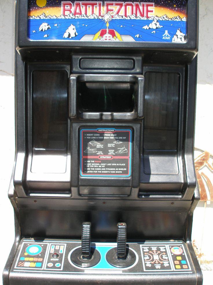 Atari Battlezone Arcade Game Vintage Games And