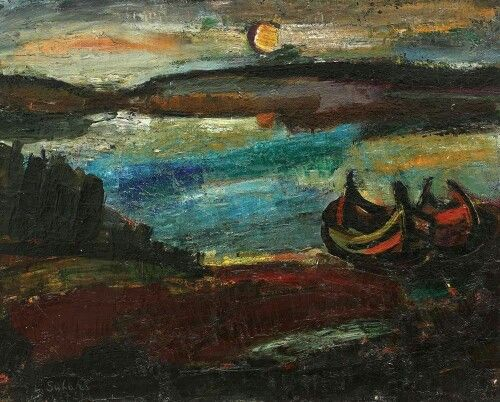 Liviu Suhar (b. 1943) Nocturnă, 1972