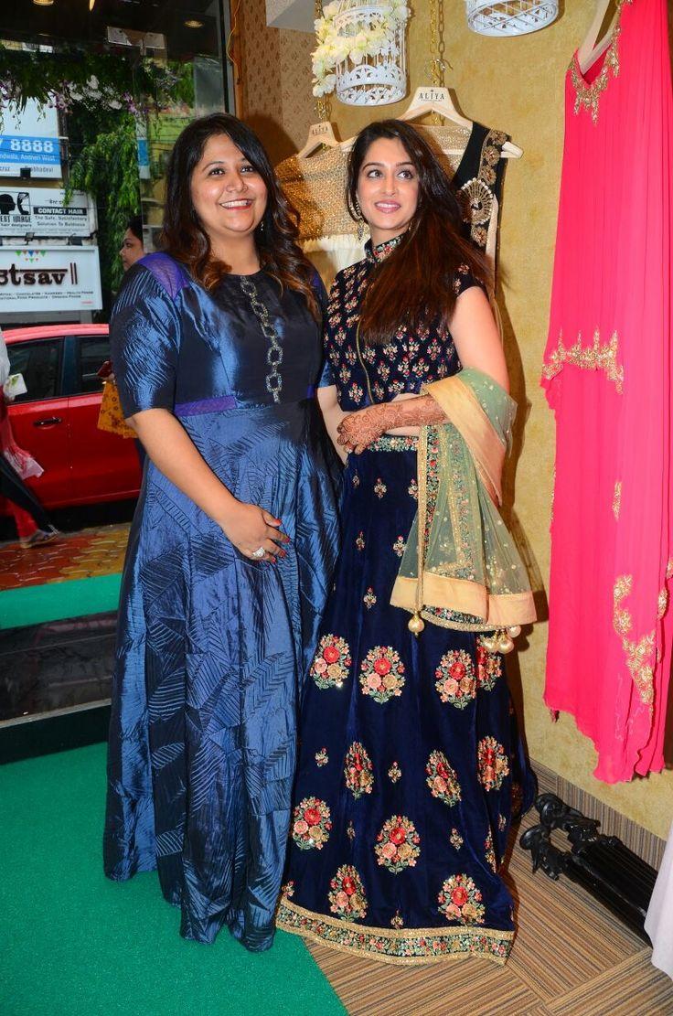 Dipika Kakkar at aliyafashionhouse store launch
