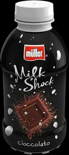 Milk Shock - #müller #drink bevanda #chocolate #cacao #cioccolato da bere #ice #sugar zucchero #sweet #dessert #milk lait latte ♡ D E_