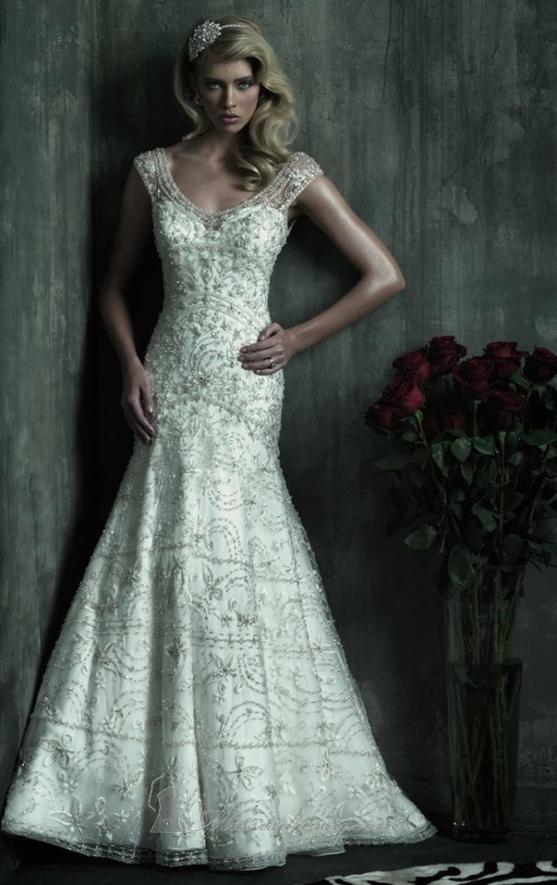 Silver Wedding Dress Ideas : The 134 best images about silver wedding ideas on pinterest