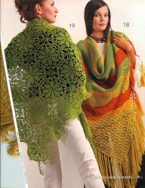 Irish crochet &: MAGAZINE ZHURNAL MOD 500 SHAWLES