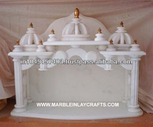 Marble temple designs for home buy pure indian marble for Home mandir designs marble