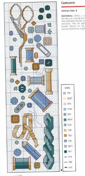 Schema punto croce Cucito-e-ricamo-10