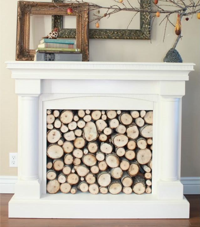1000 Ideas About Fake Fireplace Mantles On Pinterest Fake Fireplace Fireplace Mantles And