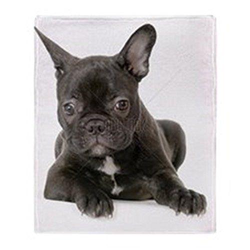 CafePress  French Bulldog  Soft Fleece Throw Blanket 50x60 Stadium Blanket