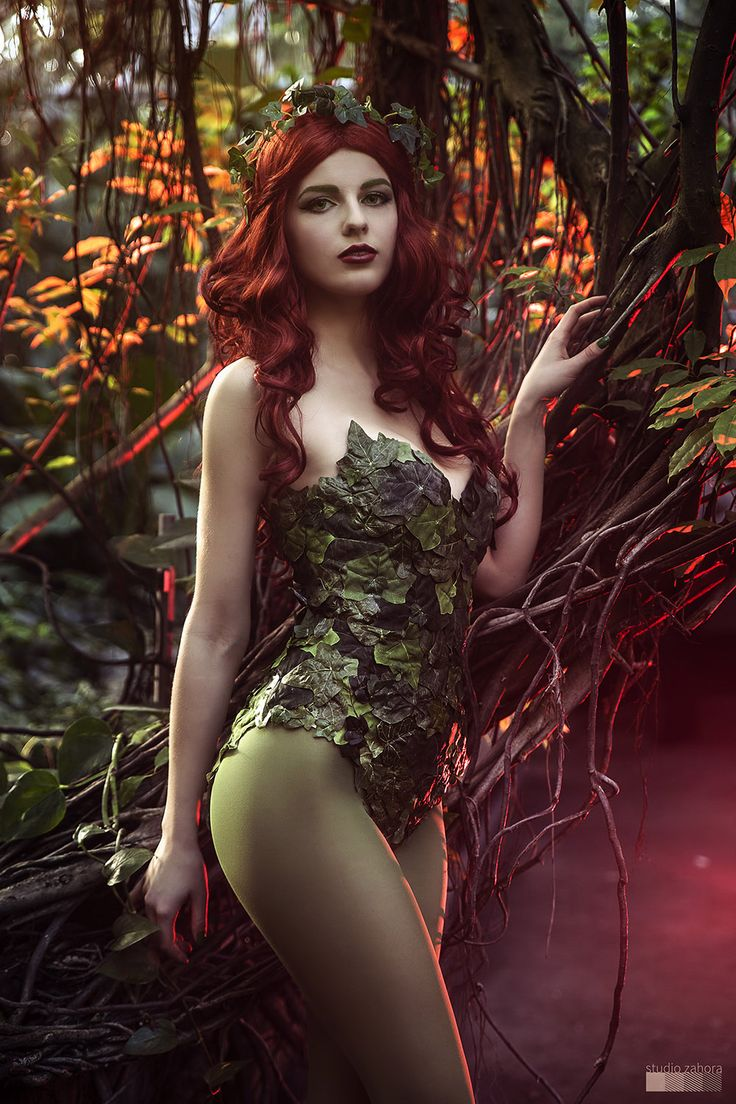 "studiozahora: ""Poison Ivy (Batman) Photoshoot Model & Costume: Magda O. Check out more (not only) cosplay photos on: http://studio.zahora.eu https://www.facebook.com/studio.zahora.eu """