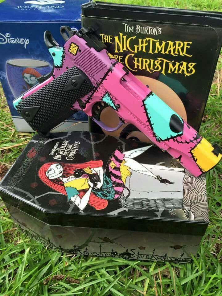 Nightmare before Christmas gun