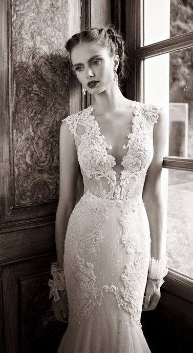 This one is fitted much lower then the hip. But it is pretty.: Berta Bridal, Lace, Wedding Dressses, Fashion, Idea, Wedding Dresses, Beautiful, Winter 2014, Bride