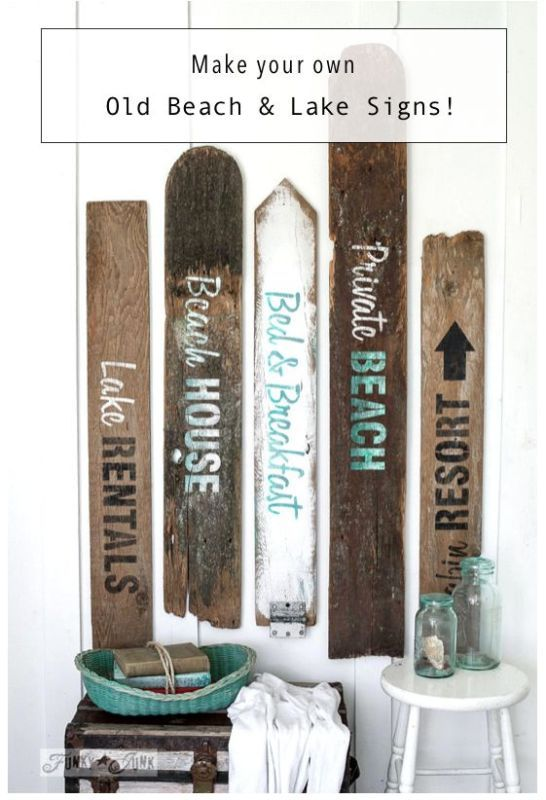 Best 25 Lake Signs Ideas On Pinterest Lake House Signs