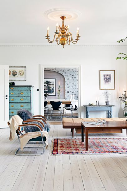 The home of danish chef thomas rode andersen from the for Hem arredamento