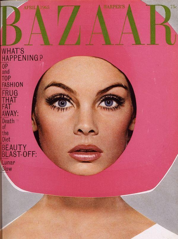 Jean Shrimpton, Harper's Bazaar - April 1965