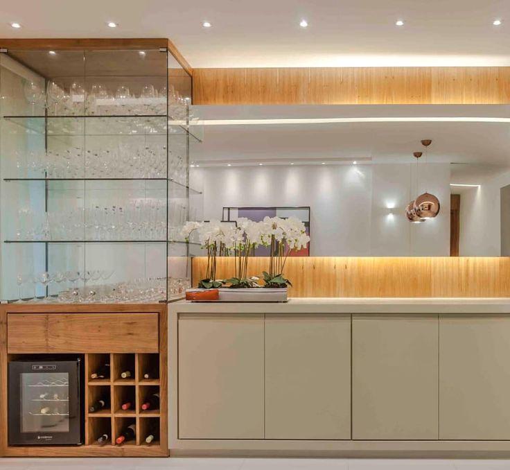 Apartamento RP | Rio de Janeiro | Sofisticado, elegante e jovem: Adegas modernas por Carol Landim | Arquitetura + Interiores