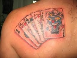 Looking for some inspiration for your next tattoo? Consider getting a playing card. Check out all the possible variations and options.