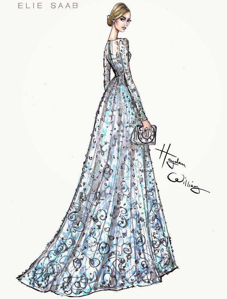 Las 25 mejores ideas sobre bocetos de moda en pinterest y for Dibujos de disenos de moda