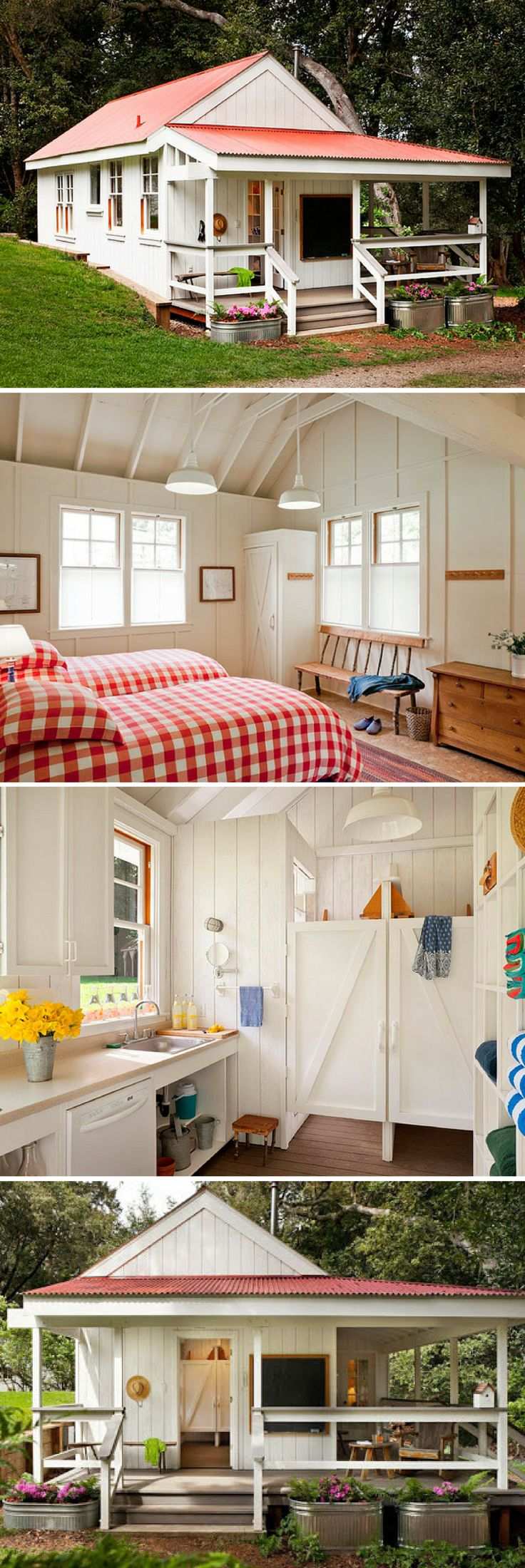 A cheerful California tiny house