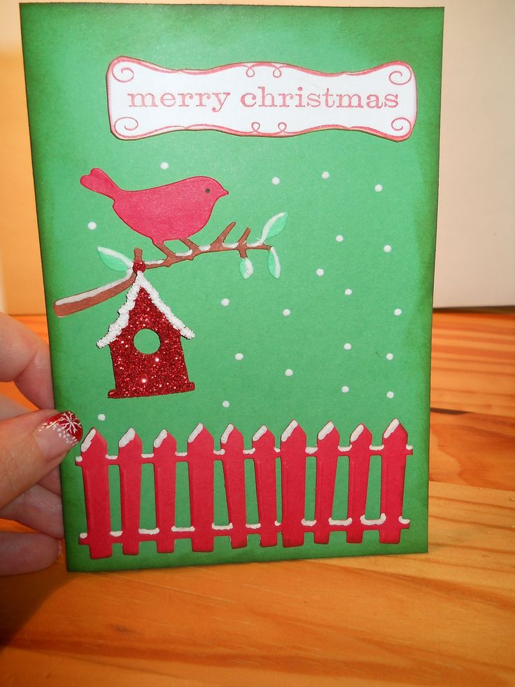 Christmas card 2012 I love Sizzix :)