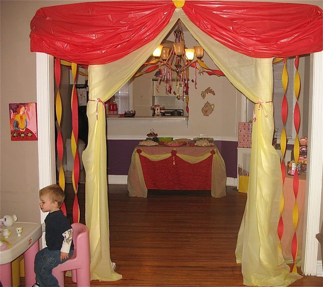 Princess Belle Room Decor Stunning 610 Best Party Stuff Images On Pinterest  Recipes Food And Desserts Design Ideas