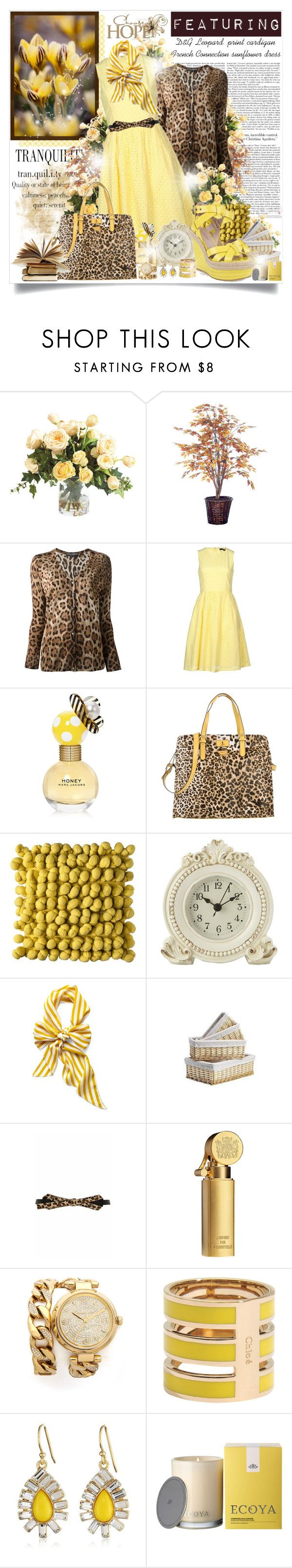 """""""Tran.quil.i.ty"""" by mrstom ❤ liked on Polyvore featuring WALL, Ethan Allen, Dolce&Gabbana, French Connection, Marc Jacobs, Blugirl, Boho Boutique, Laura Ashley, Marks & Spencer and Temperley London"""