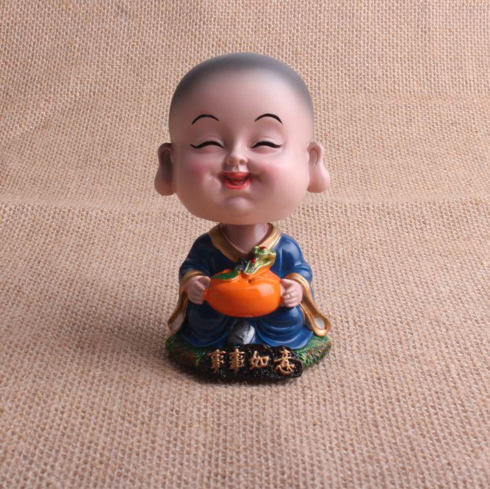 Статуя будды Днем Смолы Детские фигурки Будды Ремесла Домашнего Декора смолы художественных промыслов Буддизм фэншуй купить на AliExpress
