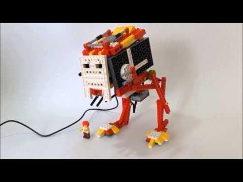 LEGO WeDo: AT-ST Walker from Star Wars : wedobots