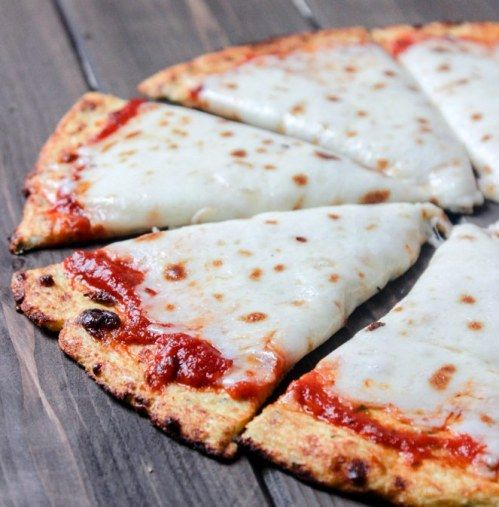 Glutenfreie Low Carb Pizzateig