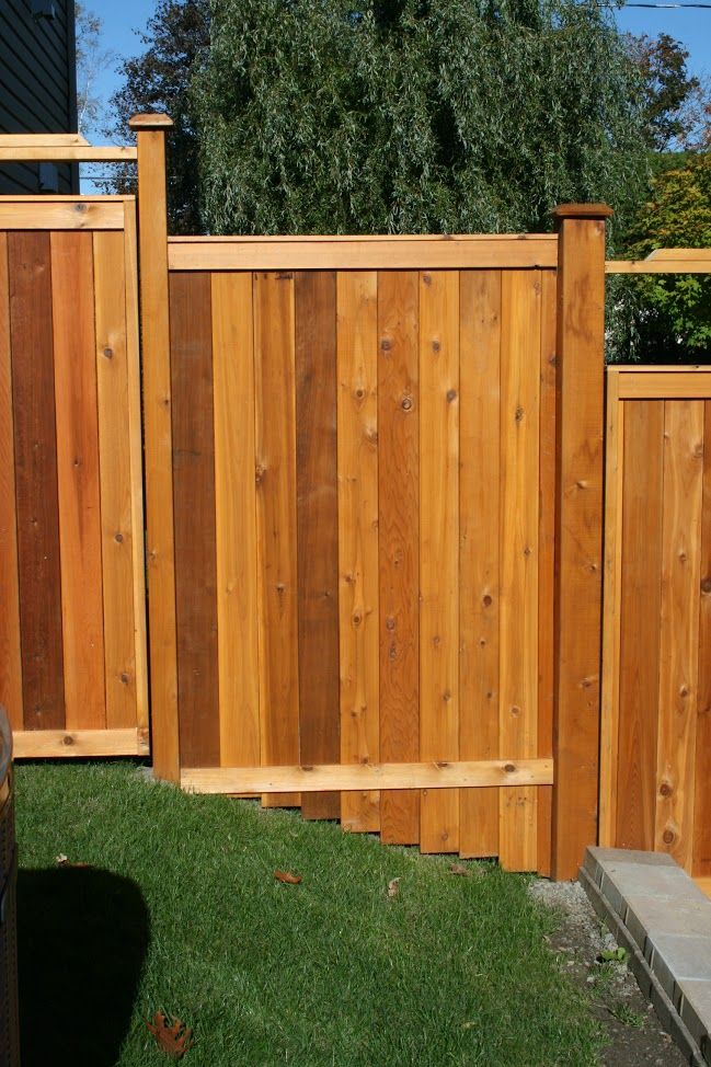 Forest Hill Wood Fence with Custom Contouring| Fence-All