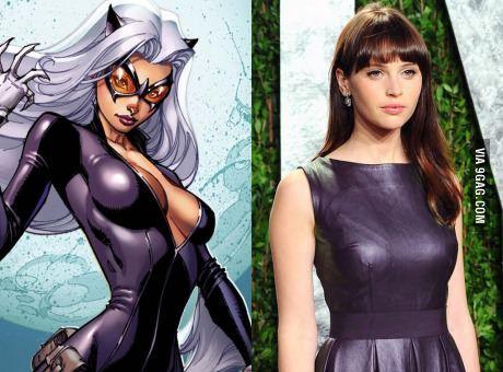 Felicity Jones will be Black Cat in future Spider-Man films.