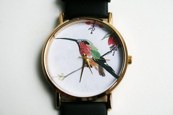 Unisex Watch Design WatchLeather Watch womens by SovietCrimea