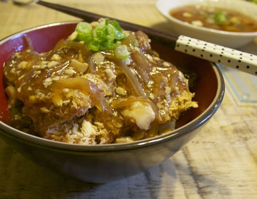 Awesome Vegan Recipes from Japanese Vegan in Scotland Non Oil Vegan Katsu-Don