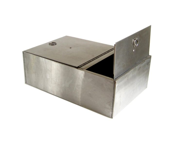 Stainless steel bread box drawer insert kitchen cupboard for Stainless steel drawers kitchen