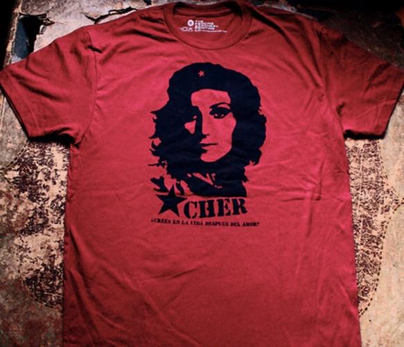 tee hee // Cher Guevara Tee