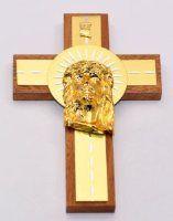 Cross Depicting the Head of Jesus
