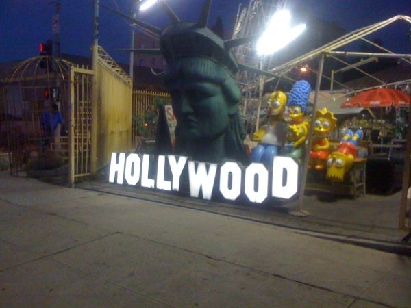 FOR SALE Super cool and hard to find illuminated vintage HOLLYWOOD signs.  Each HOLLYWOOD SIGN is Industrial quality. All Neon.    Perfect for your house - bar - loft - production company - business!!    They look AMAZING lit up at night on your hillside or near the pool!!  $2750    Each HOLLYWOOD SIGN is Industrial quality. All Neon.    Perfect for your house - bar - loft - production company - business!!    They look AMAZING lit up at night on your hillside or near the pool!!