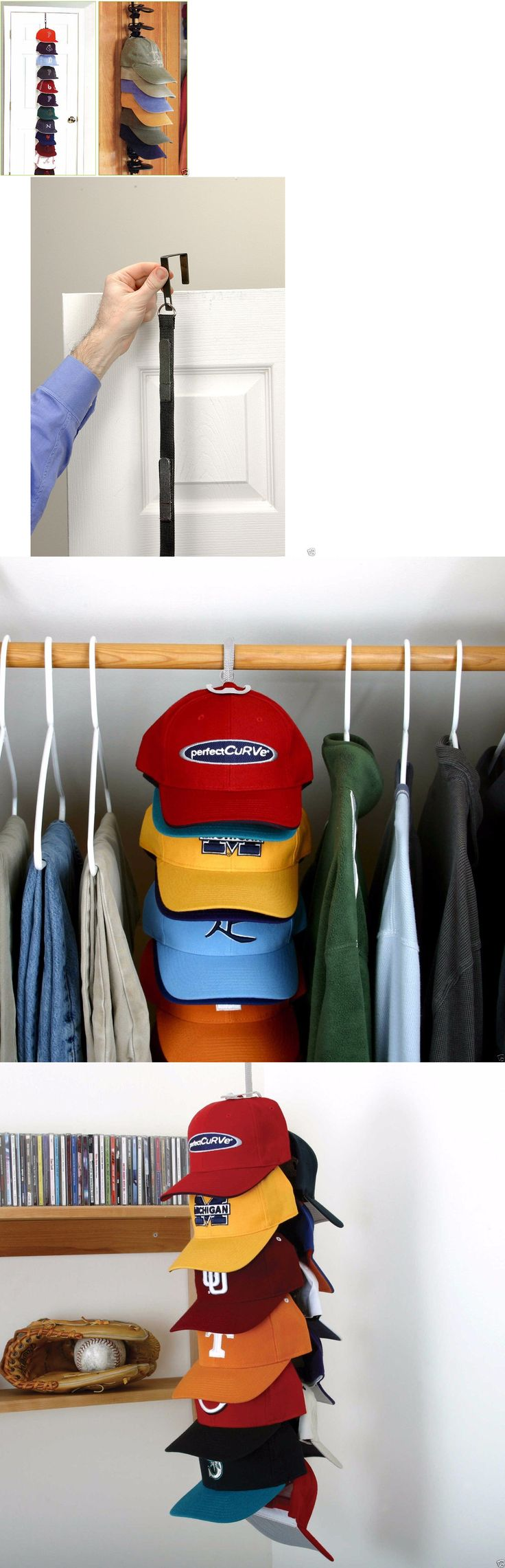 17 best ideas about baseball hat racks on