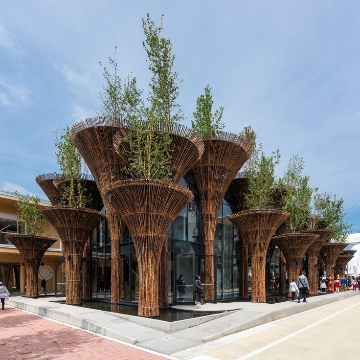 Pavillon du Vietnam pour l'exposition universelle 2015 de Milan
