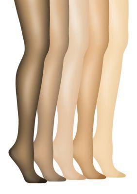 Enhanced Toe Pantyhose Leg Control 63