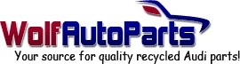 Used Audi parts for great deals and the best service! Wolfautoparts.com