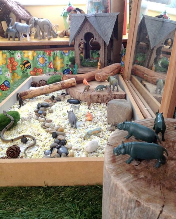 """St Helens District High School Kindergarten - """"A zoo inspired sensory play space"""" ≈≈"""