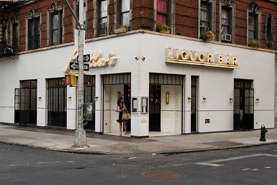 Schiller's Liquor Bar, Lower East Side NYC