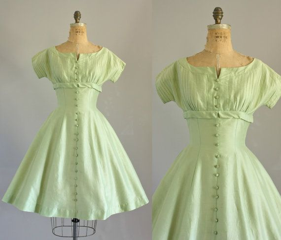 Hey, I found this really awesome Etsy listing at https://www.etsy.com/listing/168171414/vintage-50s-dress-1950s-party-dress-bess