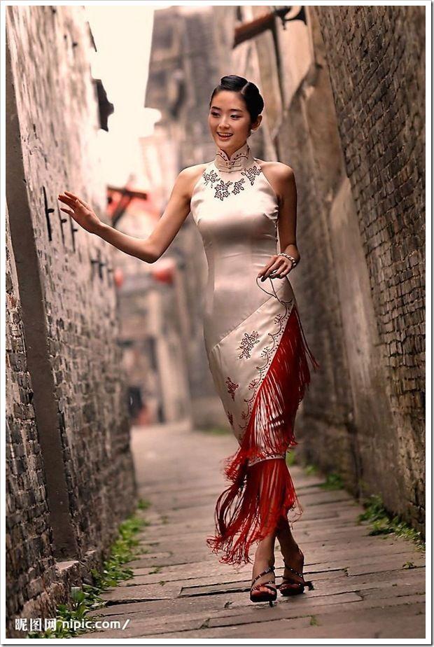 cheongsam - like the fringe