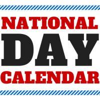 Has a calendar for each month, national & international days.  nationaldaycalendar.com