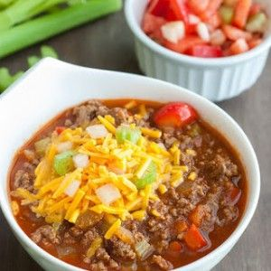 Low Carb Chili Con Carne #LCHF